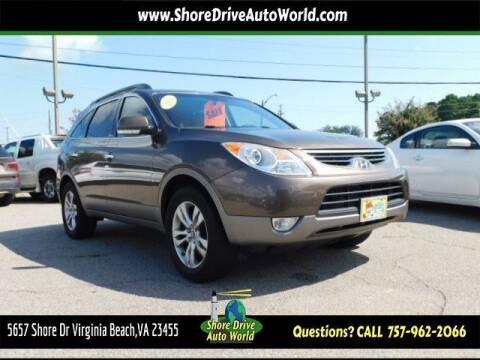 2012 Hyundai Veracruz for sale at Shore Drive Auto World in Virginia Beach VA