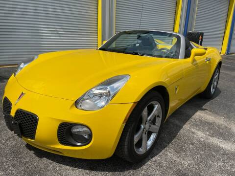 2007 Pontiac Solstice for sale at RoMicco Cars and Trucks in Tampa FL