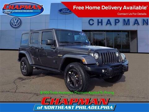 2018 Jeep Wrangler JK Unlimited for sale at CHAPMAN FORD NORTHEAST PHILADELPHIA in Philadelphia PA