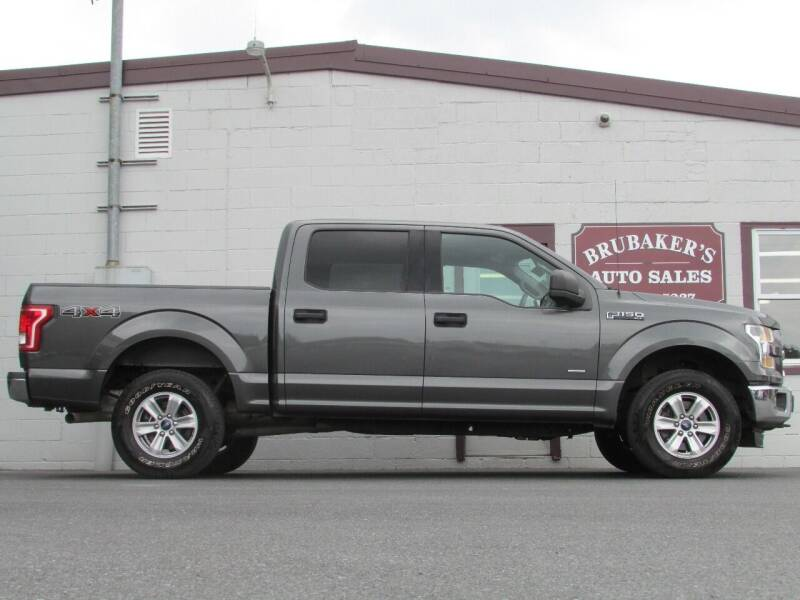 2016 Ford F-150 for sale at Brubakers Auto Sales in Myerstown PA
