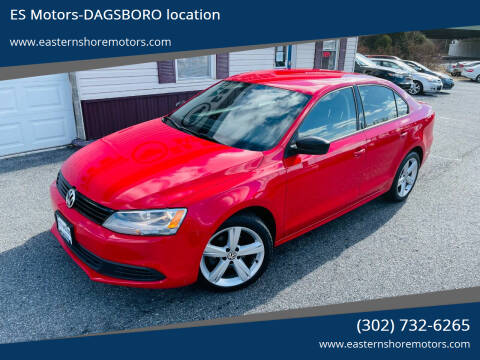 2013 Volkswagen Jetta for sale at ES Motors-DAGSBORO location in Dagsboro DE