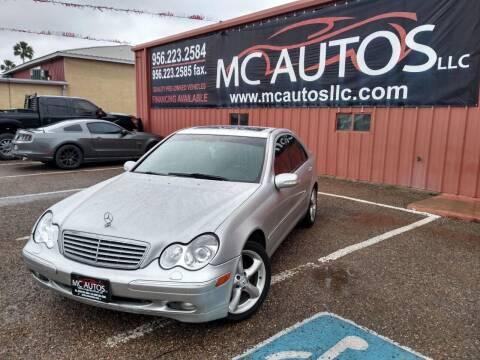 2003 Mercedes-Benz C-Class for sale at MC Autos LLC in Pharr TX