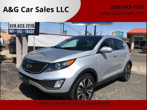 2011 Kia Sportage for sale at A&G Car Sales  LLC in Tucson AZ