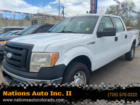 2011 Ford F-150 for sale at Nations Auto Inc. II in Denver CO