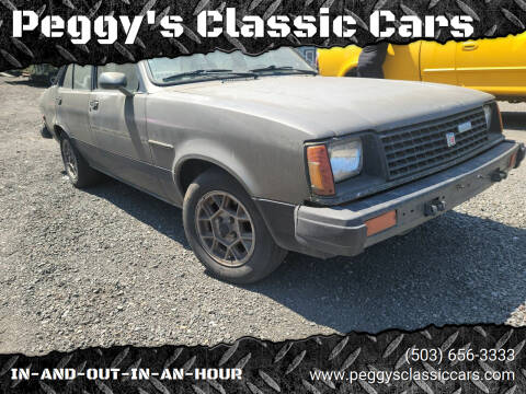 1982 Isuzu I-Mark for sale at Peggy's Classic Cars in Oregon City OR