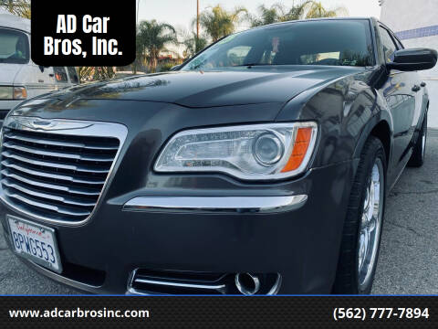 2013 Chrysler 300 for sale at AD Car Bros, Inc. in Whittier CA
