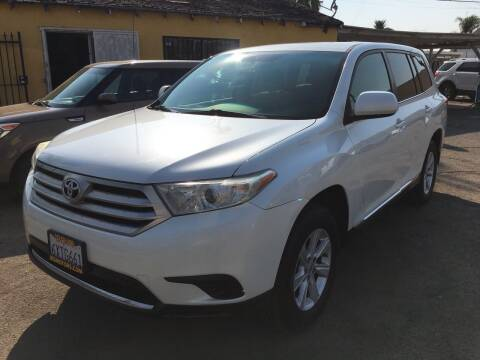 2012 Toyota Highlander for sale at JR'S AUTO SALES in Pacoima CA