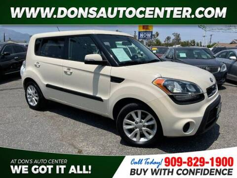 2013 Kia Soul for sale at Dons Auto Center in Fontana CA