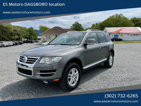 2009 Volkswagen Touareg 2 for sale at ES Motors-DAGSBORO location in Dagsboro DE