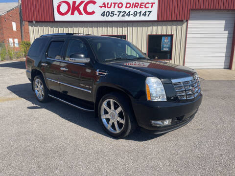 2009 Cadillac Escalade for sale at OKC Auto Direct, LLC in Oklahoma City OK