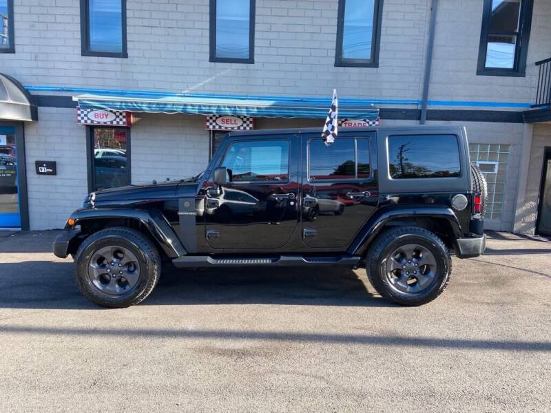 2017 Jeep Wrangler Unlimited for sale at Sisson Pre-Owned in Uniontown PA