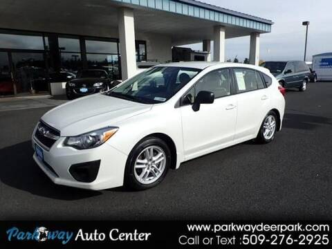 2013 Subaru Impreza for sale at PARKWAY AUTO CENTER AND RV in Deer Park WA