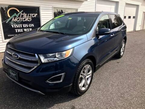 2017 Ford Edge for sale at HILLTOP MOTORS INC in Caribou ME