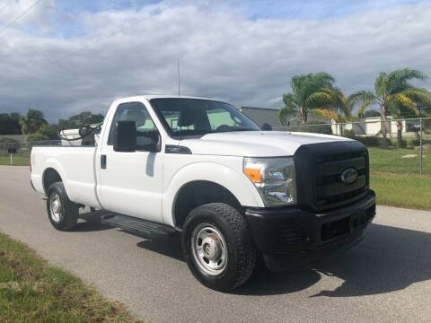 2013 Ford F-250 Super Duty for sale at S & N AUTO LOCATORS INC in Lake Placid FL