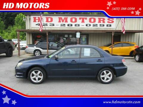 2006 Subaru Impreza for sale at HD MOTORS in Kingsport TN