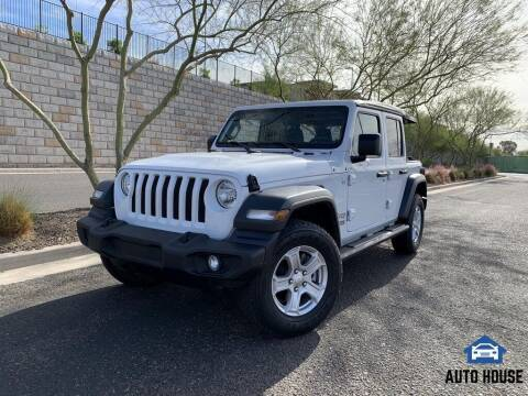 2018 Jeep Wrangler Unlimited for sale at MyAutoJack.com @ Auto House in Tempe AZ