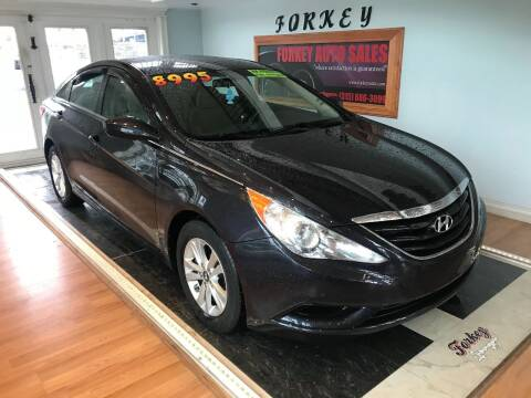 2011 Hyundai Sonata for sale at Forkey Auto & Trailer Sales in La Fargeville NY