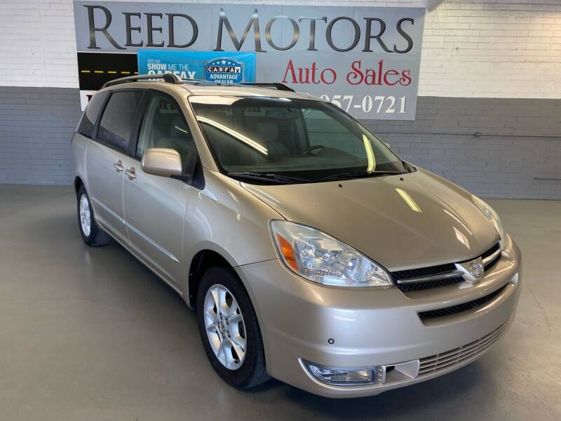 2004 Toyota Sienna for sale at REED MOTORS LLC in Phoenix AZ