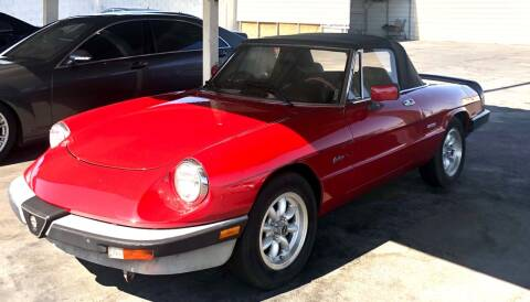 1988 Alfa Romeo Spider for sale at GEM Motorcars in Henderson NV