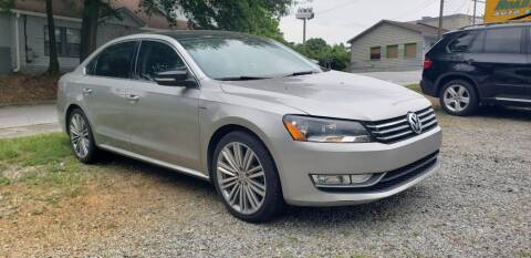 2014 Volkswagen Passat for sale at On The Road Again Auto Sales in Doraville GA