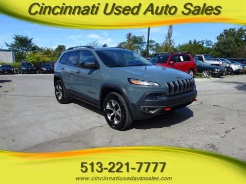 2015 Jeep Cherokee for sale at Cincinnati Used Auto Sales in Cincinnati OH