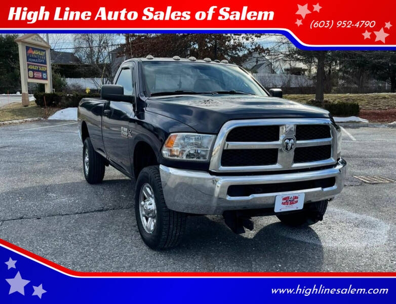 2014 RAM Ram Pickup 2500 for sale at High Line Auto Sales of Salem in Salem NH
