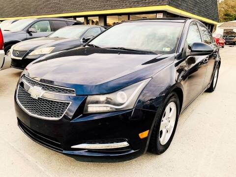 2014 Chevrolet Cruze for sale at Auto Space LLC in Norfolk VA