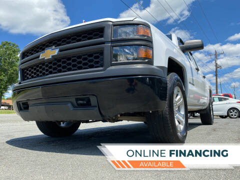 2014 Chevrolet Silverado 1500 for sale at Prime One Inc in Walkertown NC