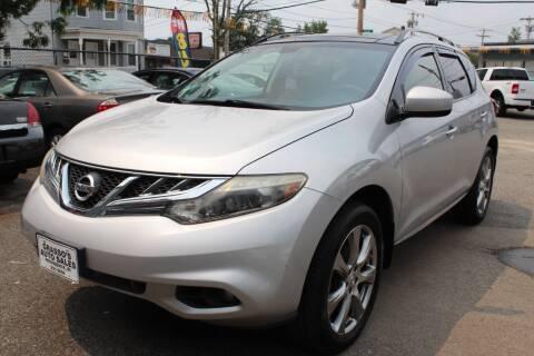 2012 Nissan Murano for sale at Grasso's Auto Sales in Providence RI