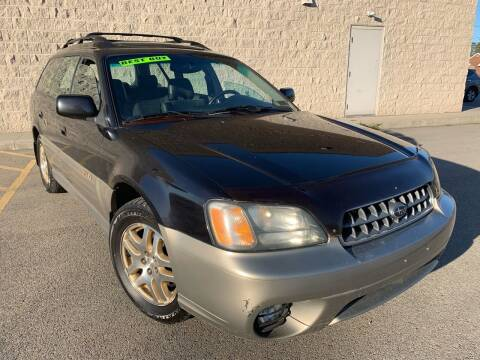 2003 Subaru Outback for sale at Trocci's Auto Sales in West Pittsburg PA