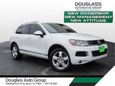 2014 Volkswagen Touareg for sale at Douglass Automotive Group - Douglas Volkswagen in Bryan TX
