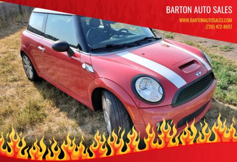 2010 MINI Cooper for sale at Barton Auto Sales in Longmont CO