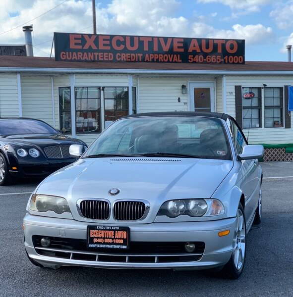 2002 BMW 3 Series for sale at Executive Auto in Winchester VA