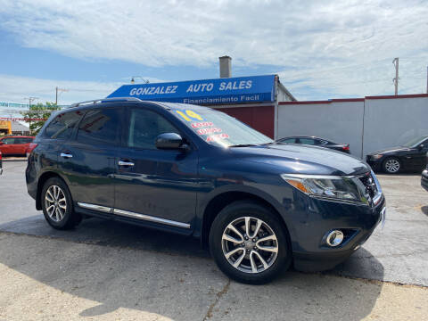 2014 Nissan Pathfinder for sale at Gonzalez Auto Sales in Joliet IL