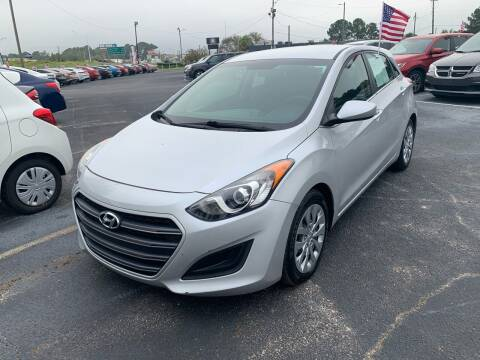 2017 Hyundai Elantra GT for sale at Sun Coast City Auto Sales in Mobile AL