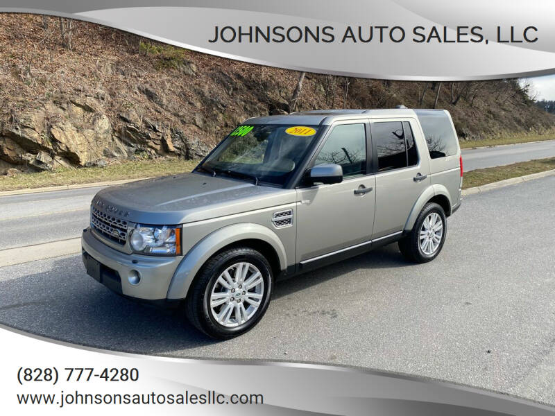 2011 Land Rover LR4 for sale at Johnsons Auto Sales, LLC in Marshall NC
