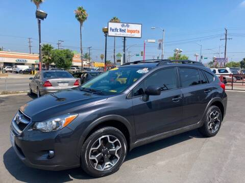2015 Subaru XV Crosstrek for sale at Pacific West Imports in Los Angeles CA