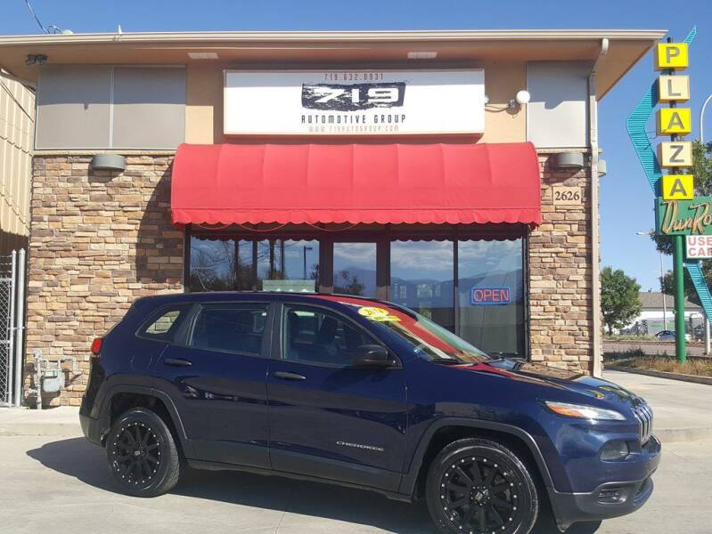2014 Jeep Cherokee for sale at 719 Automotive Group in Colorado Springs CO