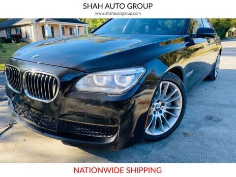 2013 BMW 7 Series for sale at E-Z Auto Finance - E-Biz Auto in Marietta GA