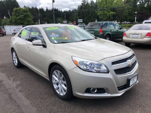 2013 Chevrolet Malibu for sale at Freeborn Motors in Lafayette, OR