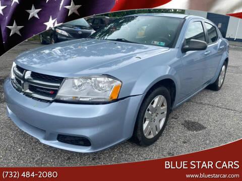 2013 Dodge Avenger for sale at Blue Star Cars in Jamesburg NJ