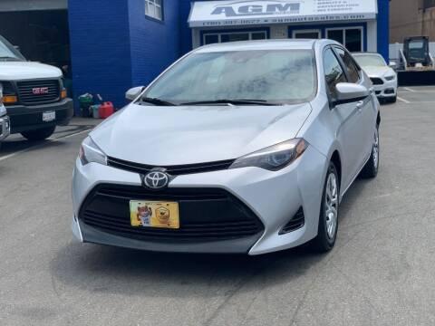 2017 Toyota Corolla for sale at AGM AUTO SALES in Malden MA