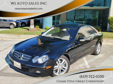 2006 Mercedes-Benz CLK for sale at WS AUTO SALES INC in El Cajon CA