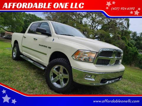 2010 Dodge Ram Pickup 1500 for sale at AFFORDABLE ONE LLC in Orlando FL