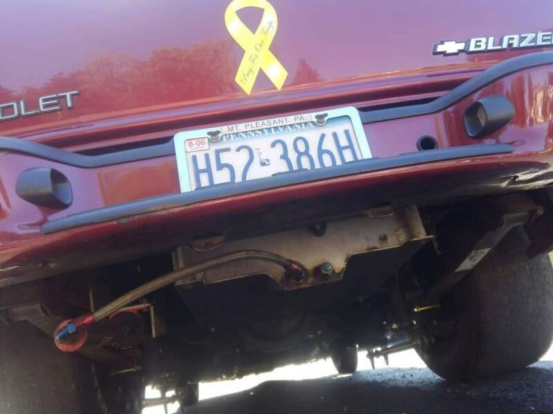 1995 Chevrolet Blazer 2dr SUV - Mt.Pleasant PA