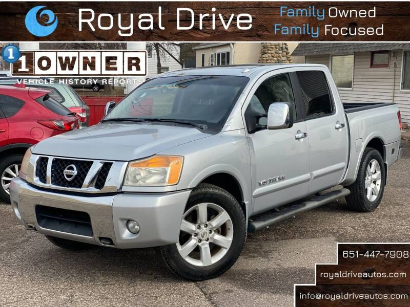 2011 Nissan Titan for sale at Royal Drive in Newport MN
