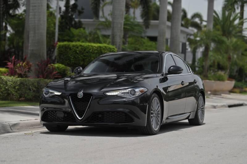 2017 Alfa Romeo Giulia for sale at EURO STABLE in Miami FL