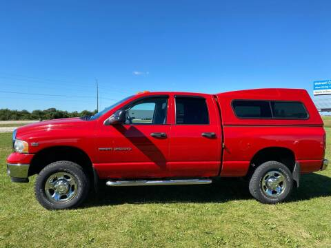 2004 Dodge Ram Pickup 2500 for sale at Sam Buys in Beaver Dam WI