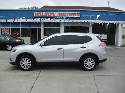 2016 Nissan Rogue for sale at Wilson Motors in Junction City KS