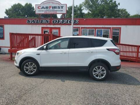 2017 Ford Escape for sale at CARFIRST ABERDEEN in Aberdeen MD